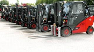 600 LINDE Mietgeräte für die Oberpfalz und Niederbayern